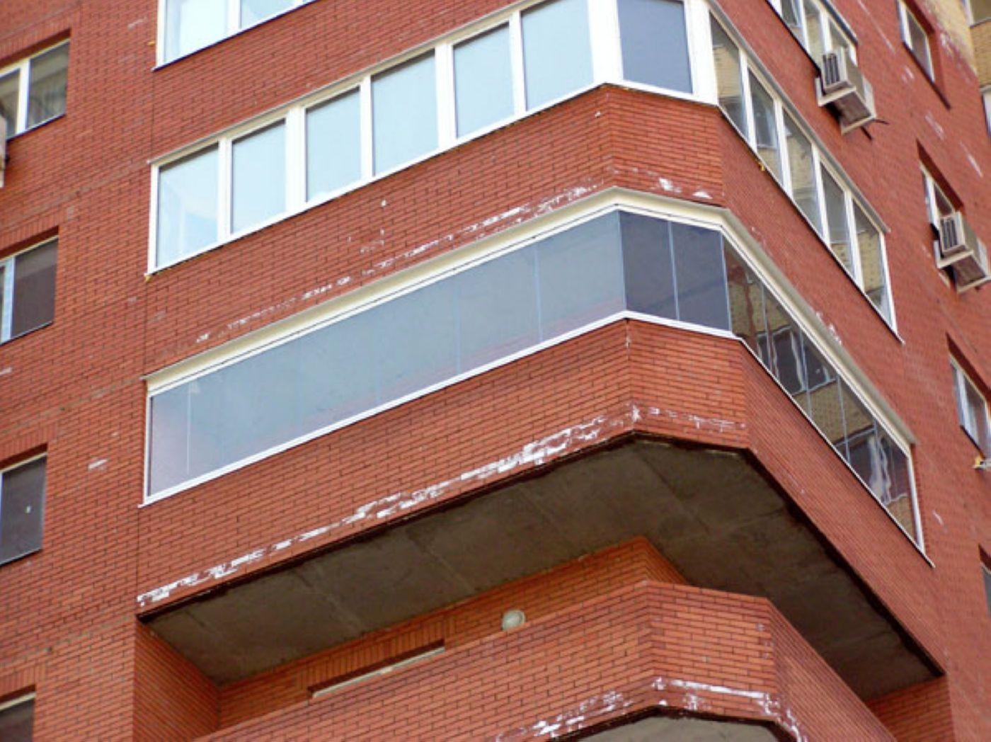 Безрамное остекление балконов и лоджий в санкт-петербурге - .